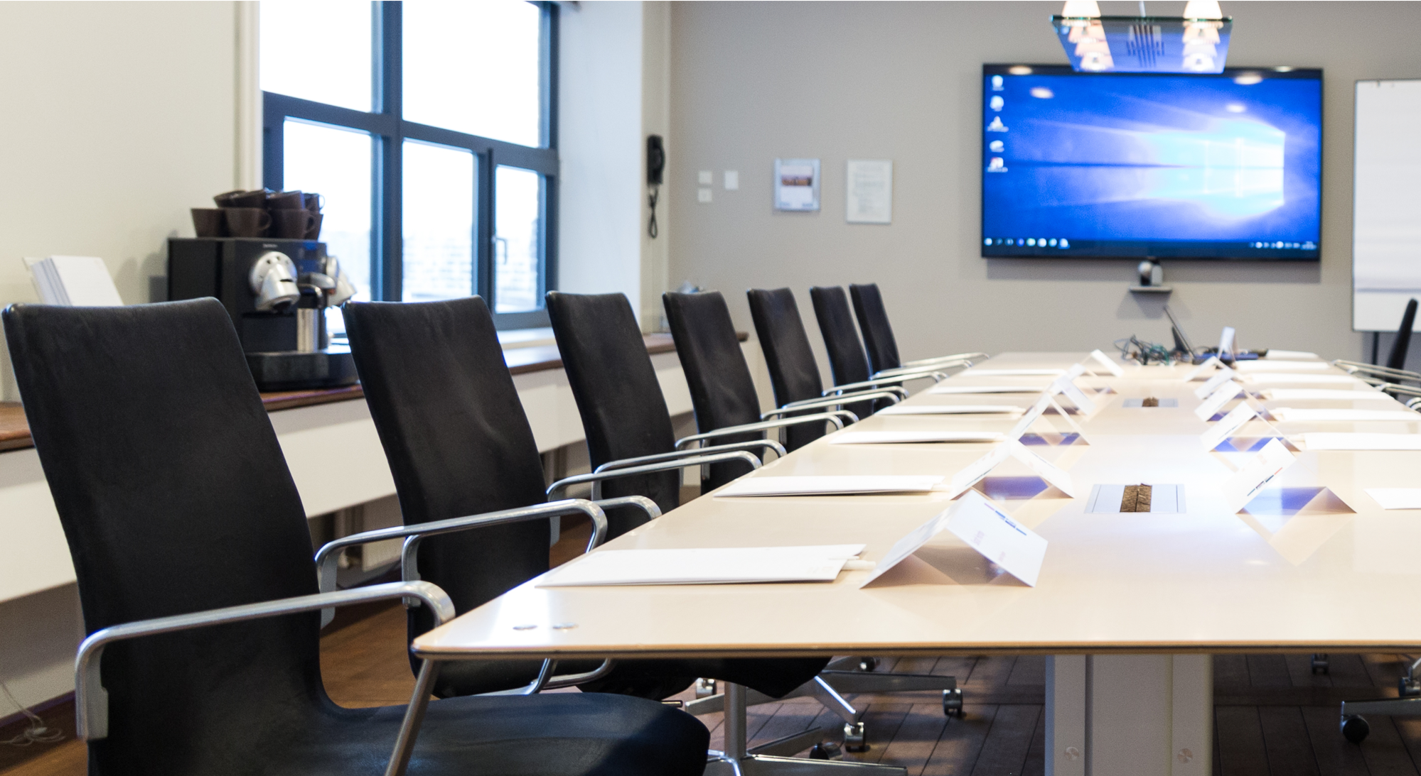 Meetings and events, welcome to the C-suite